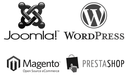 wordpress-joomla-prestashop-magento
